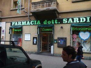 insegne farmacie al neon Torino