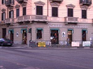 insegne caffè al neon Torino