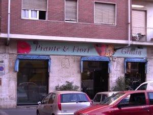 insegne negozi al neon Torino