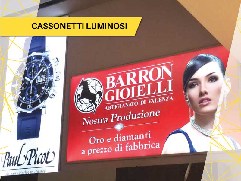Cassonetti Luminosi