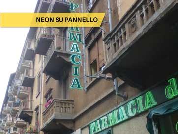 Neon su Pannello