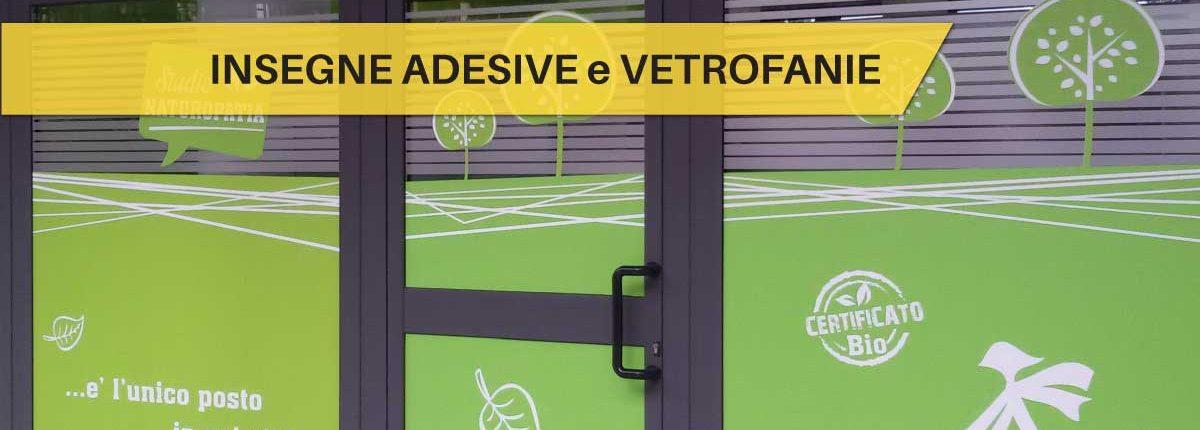 Insegne Adesive e Vetrofanie