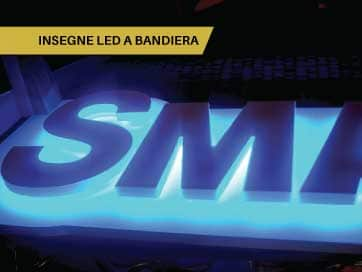 Insegne Led a Bandiera